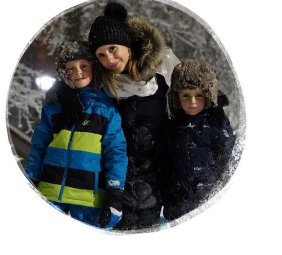 Marika Srnánková s deťmi