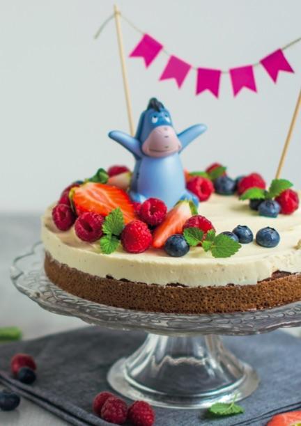 narodeninova torta pre najmenších